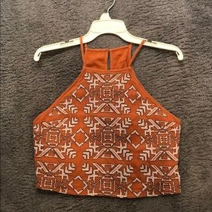 Abercrombie NWT Rust Color Crop Top